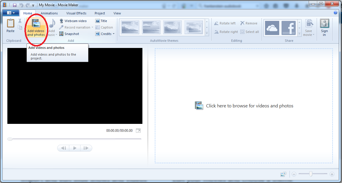Til how to rotate video recorded on your smart phone broox movie maker step1 ccuart Images